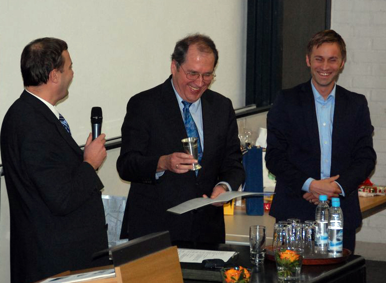 Eberspächer appointed as honorary member of the institute's alumni association.