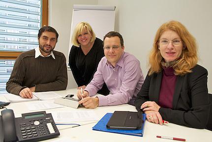 Project team: Grippa, Behrens, Bettstetter, Wall
