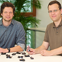 Marchenko and Bettstetter with sensor devices