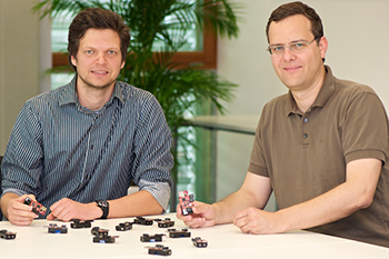 Marchenko and Bettstetter with wireless sensor nodes
