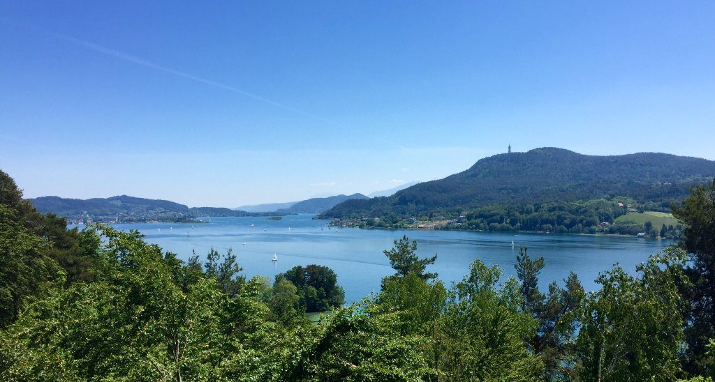 Lake Wörthersee: View from Techelsberg