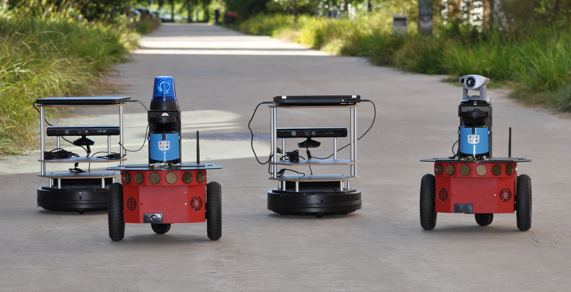 mobile robots R&d prototype platform for a surveillance robot mr3 is using 4 high torque stepper motors with 72 kg m of torque.